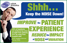 Shhh Keep the Noise Down to Improve the Patient Experience