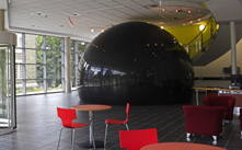 Aberystwyth University 3D Visualisation Centre in Wales