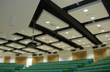 Cardiff University Lecture Theatre in Wales
