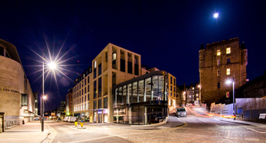 Noise Surveys, Acoustic Design & Sound Insulation Testing | Premier Inn Hotels Edinburgh